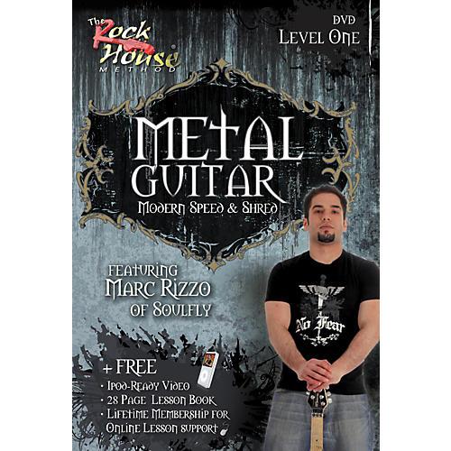 Hal Leonard Intermediate Metal Guitar with Marc Rizzo (Book/DVD) thumbnail