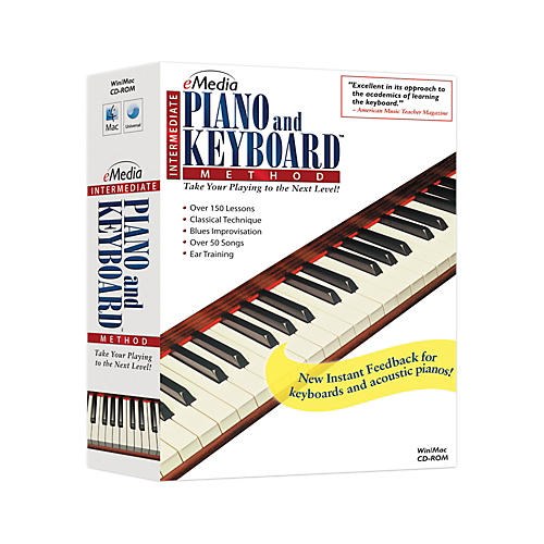 eMedia Intermediate Piano & Keyboard Method v2.0 thumbnail