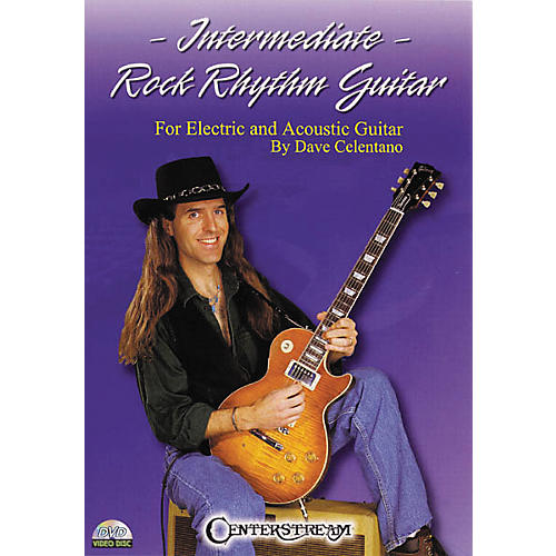 Centerstream Publishing Intermediate Rock Rhythm Guitar (DVD) thumbnail
