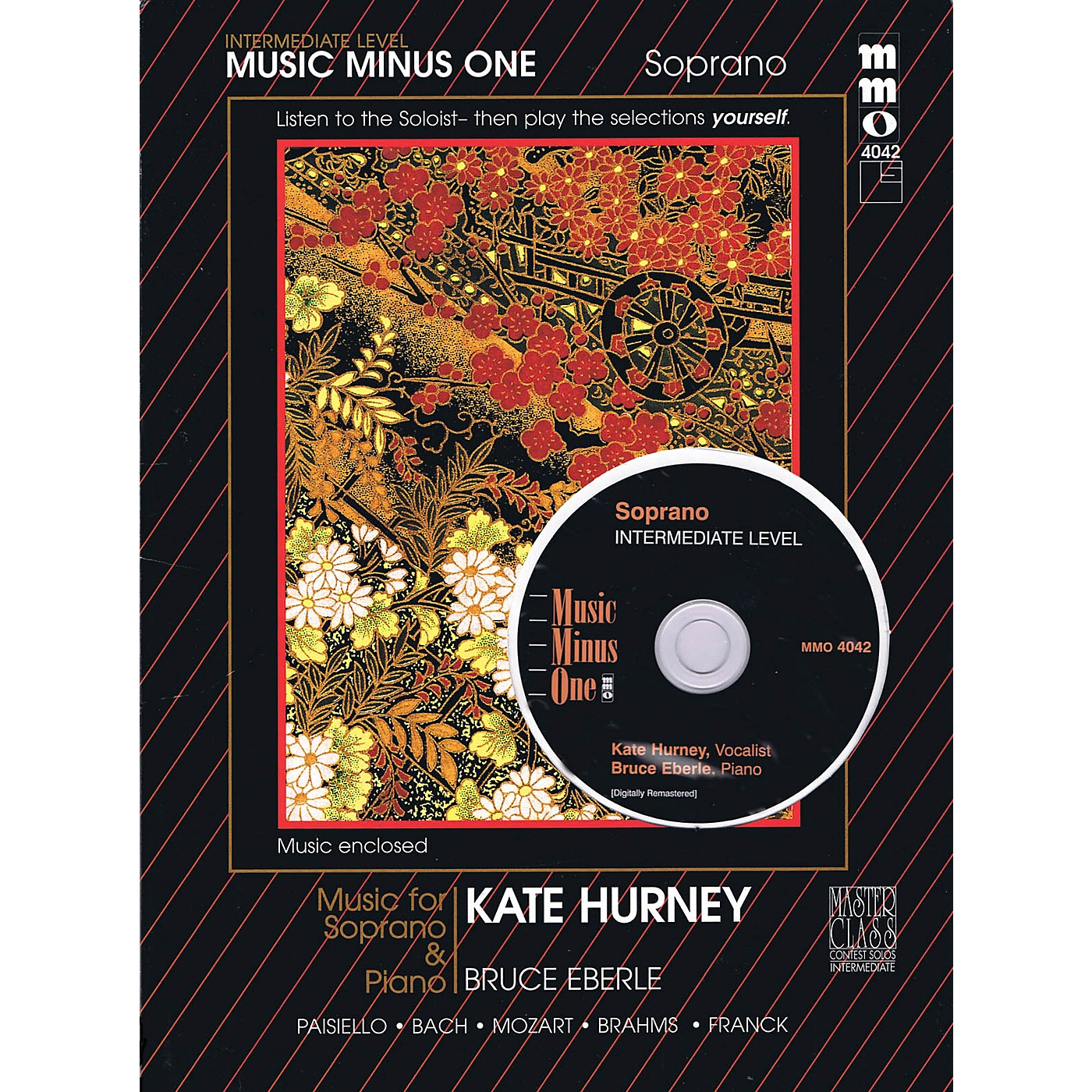 Music Minus One Intermediate Soprano Solos (Kate Hurney) Music Minus One Series Softcover with CD thumbnail