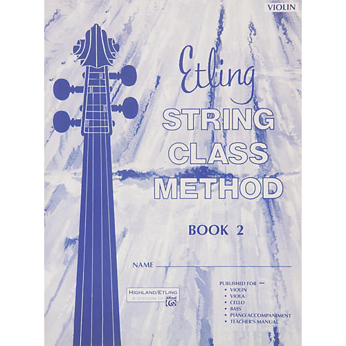 Alfred Intermediate String Techniques Violin thumbnail