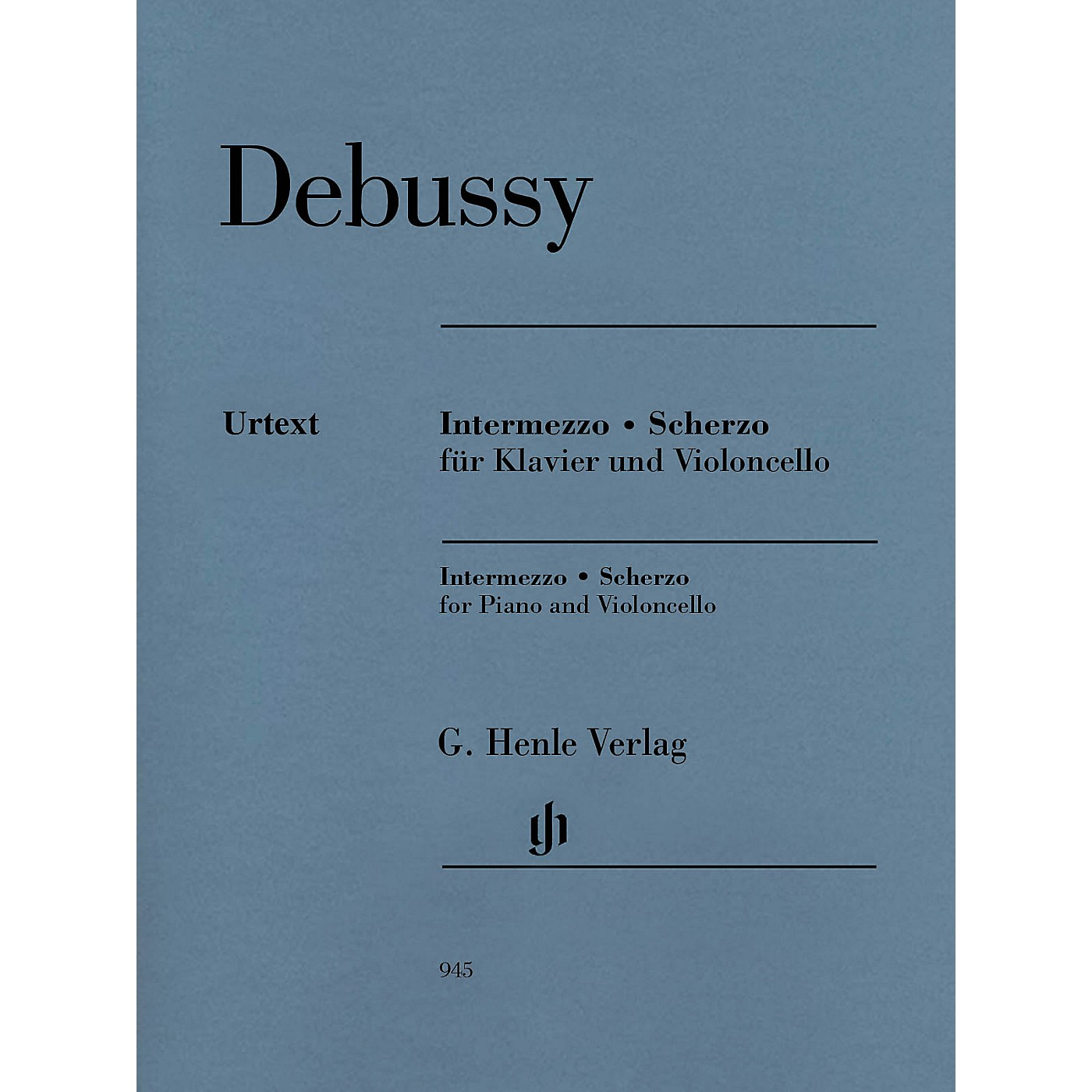 G. Henle Verlag Intermezzo and Scherzo Henle Music Folios by Claude Debussy Edited by Ernst-Günter Heinemann thumbnail