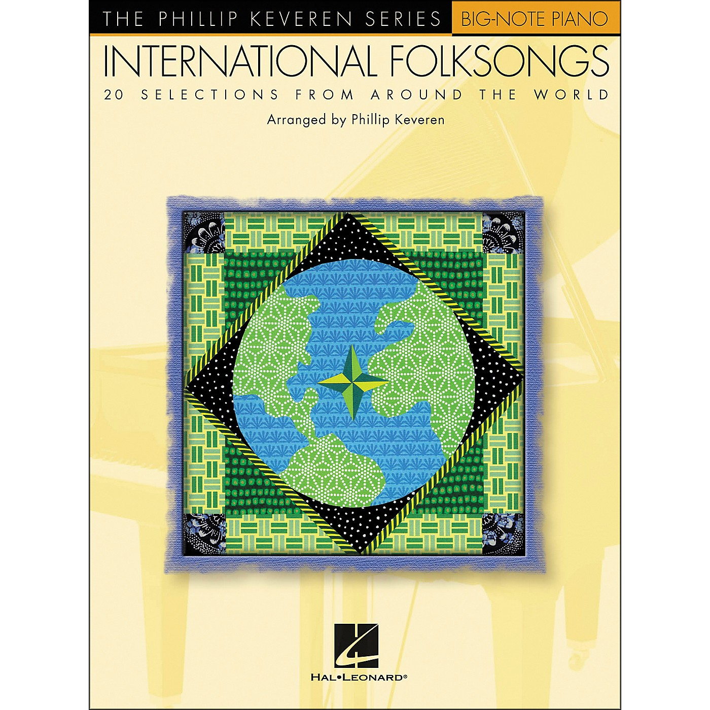 Hal Leonard International Folksongs - 20 Folksongs Arranged By Phillip Keveren for Big Note Piano thumbnail
