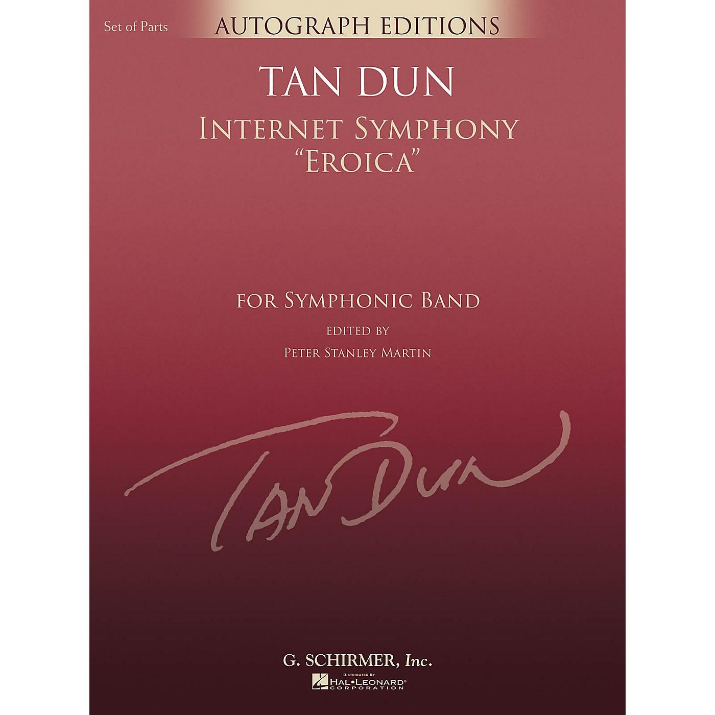G. Schirmer Internet Symphony Eroica (G. Schirmer Autograph Edition) Concert Band Level 5 Composed by Tan Dun thumbnail