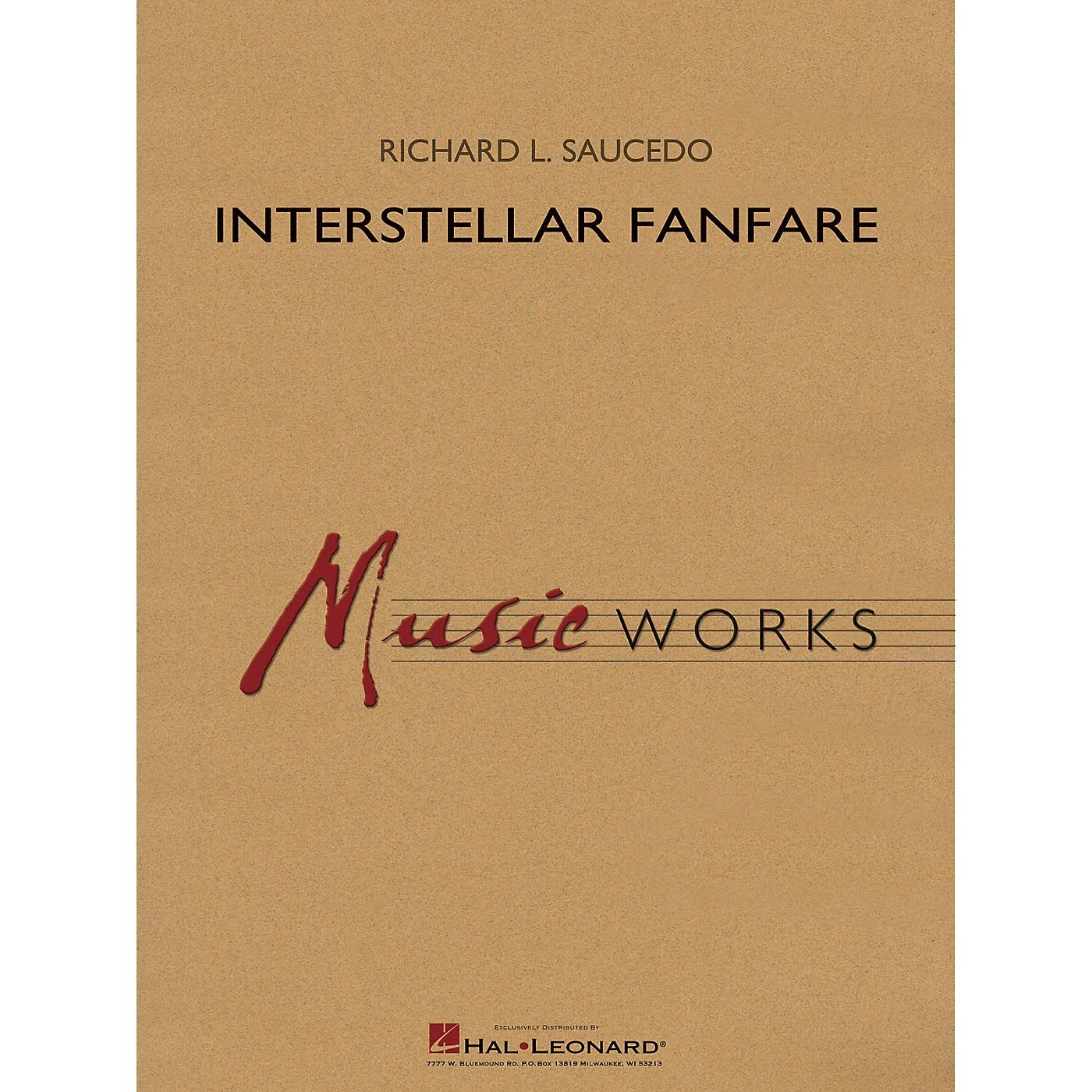 Hal Leonard Interstellar Fanfare Concert Band Level 4 composed by Richard L. Saucedo thumbnail