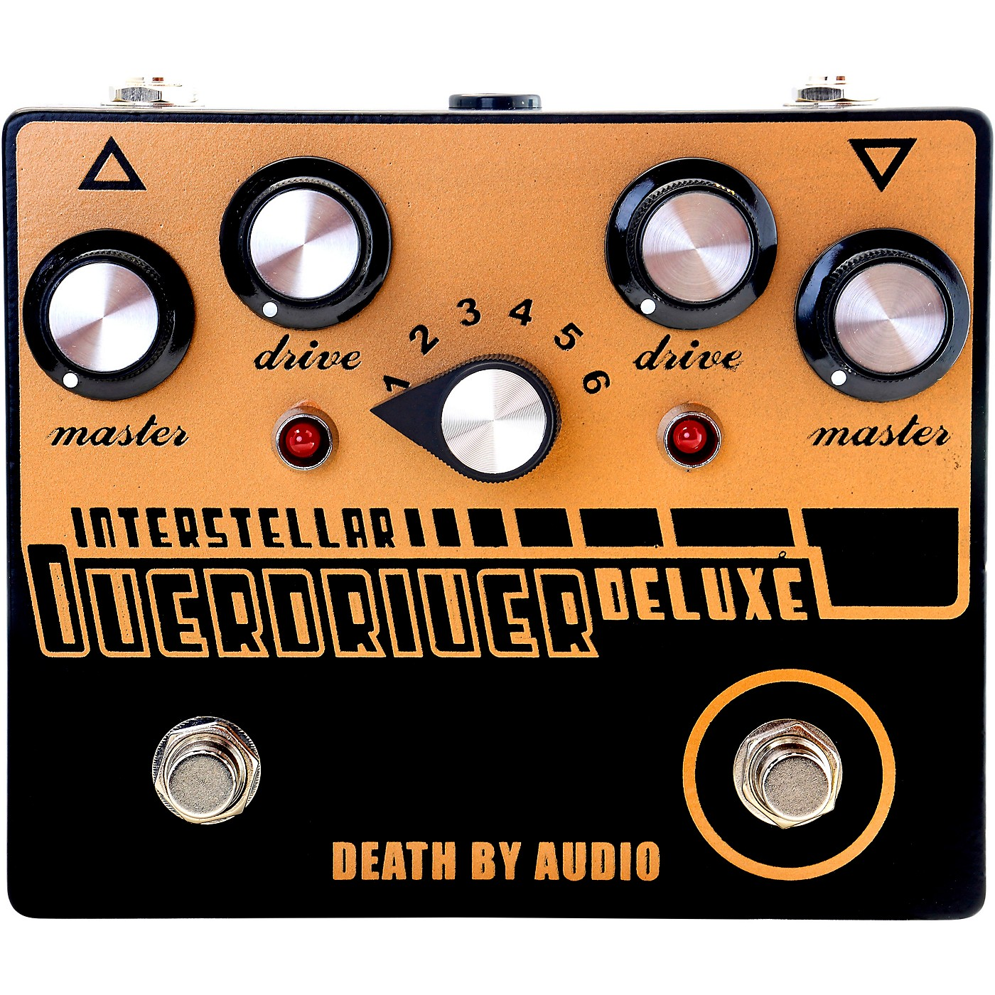 DEATH BY AUDIO Interstellar Overdriver Deluxe Dual Overdrive Noise Effects Pedal thumbnail