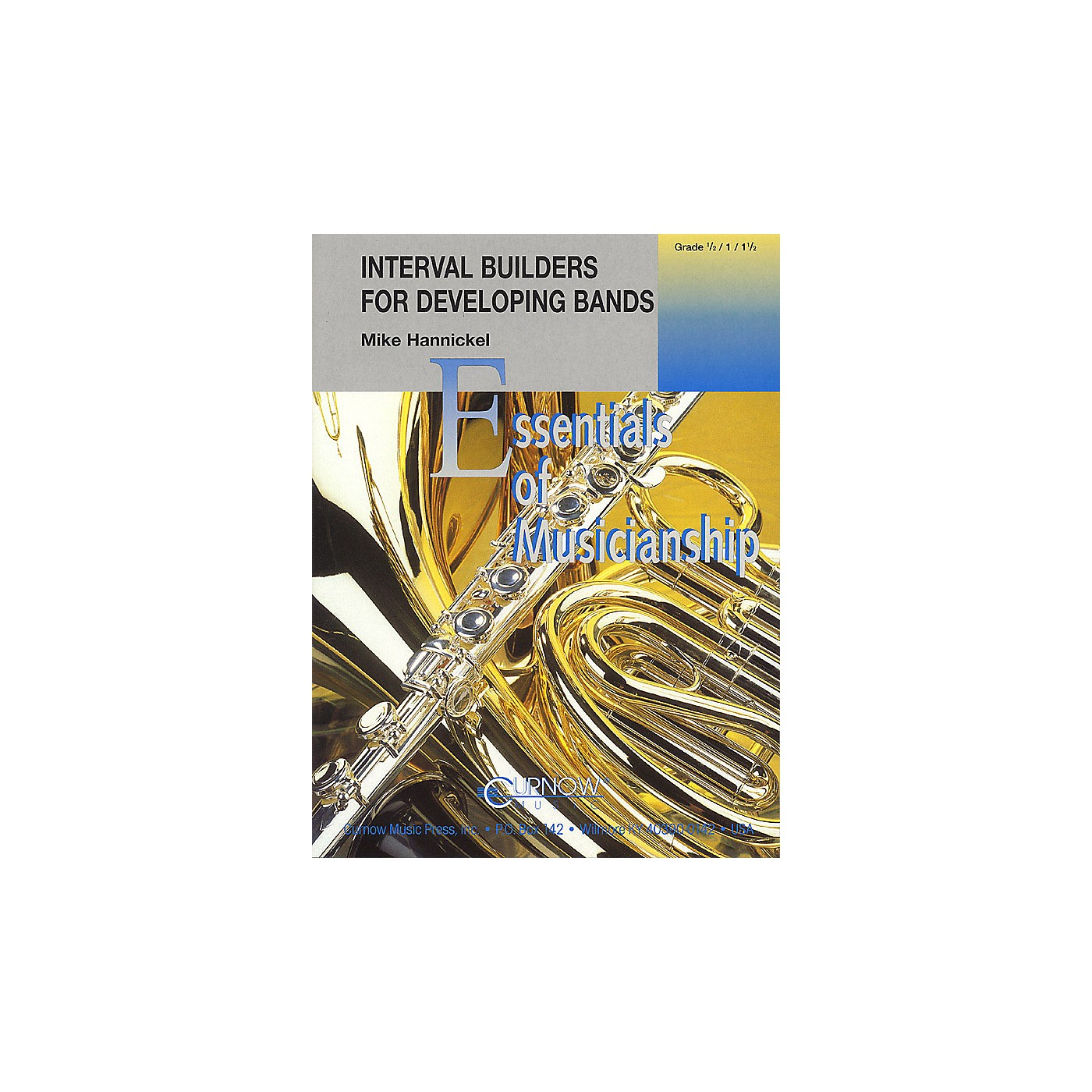 Curnow Music Interval Builders for Developing Bands Concert Band Level .5 to 1.5 Composed by Mike Hannickel thumbnail