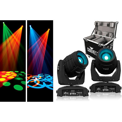 CHAUVET DJ Intimidator Spot LED 350 (2 Pack with Flight Case) thumbnail