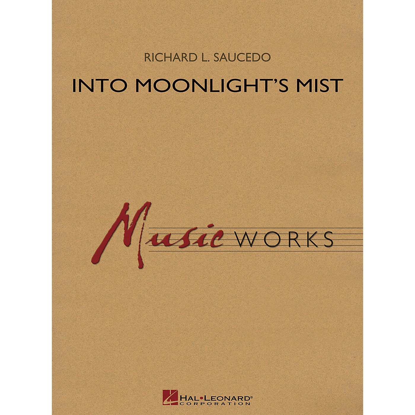 Hal Leonard Into Moonlight's Mist Concert Band Level 4 Composed by Richard L. Saucedo thumbnail