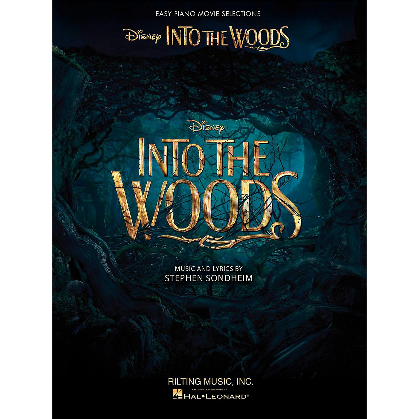 Hal Leonard Into The Woods Easy Piano Selections from the Disney Movie thumbnail