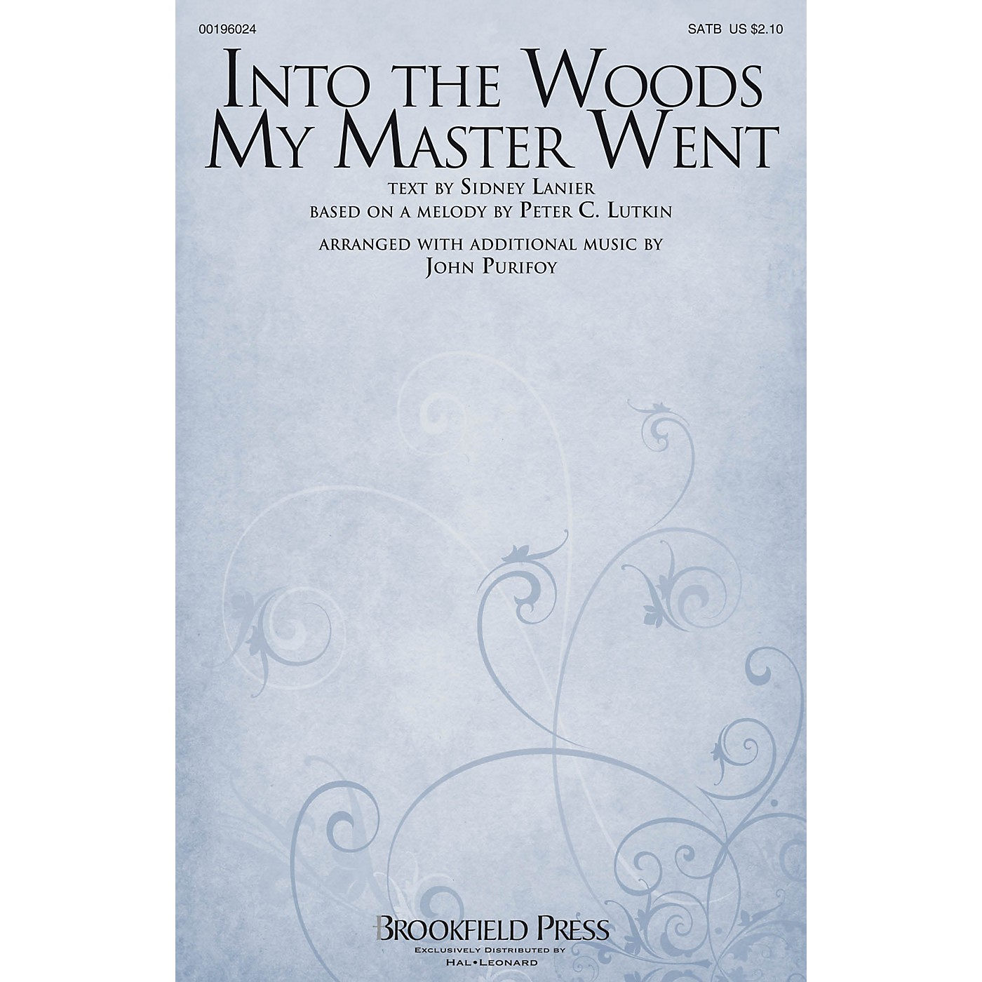 Brookfield Into The Woods My Master Went SATB arranged by John Purifoy thumbnail