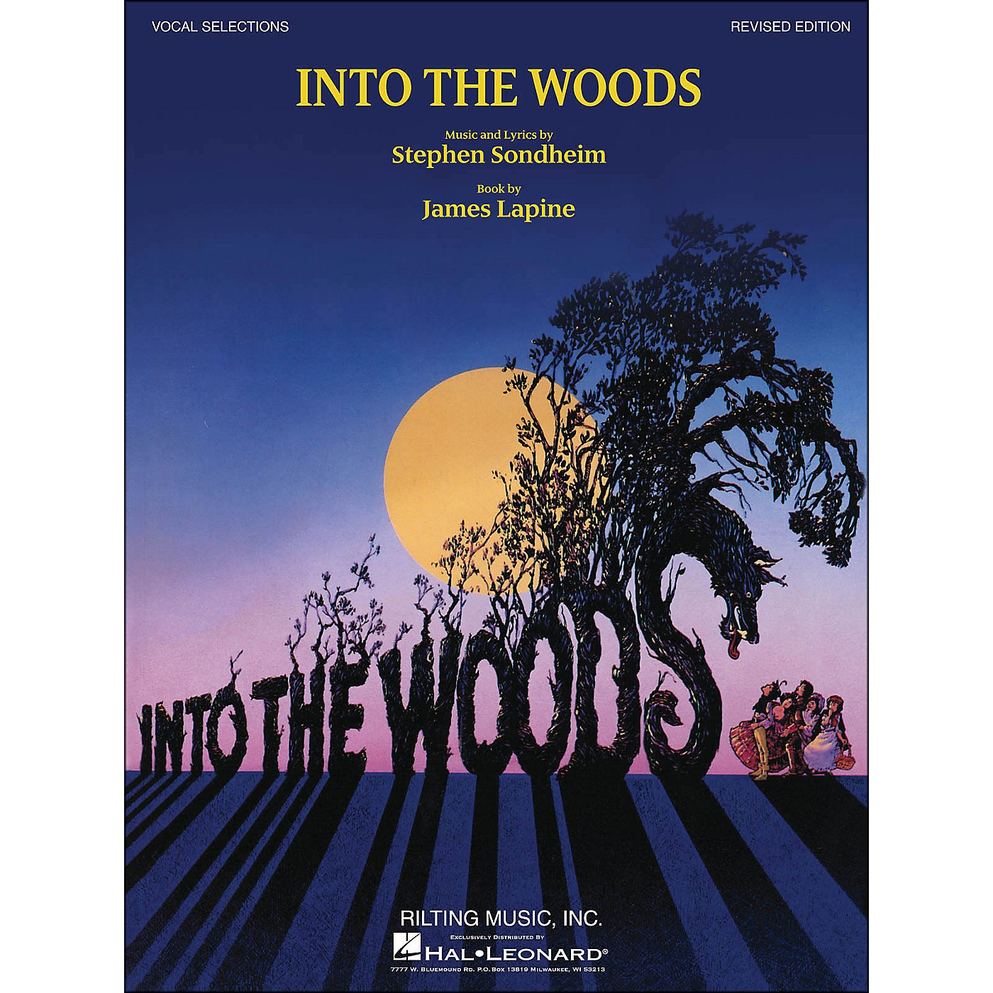 Hal Leonard Into The Woods Vocal Selections (Revised Edition) arranged for piano, vocal, and guitar (P/V/G) thumbnail