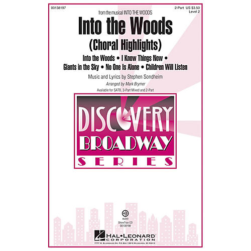 Hal Leonard Into the Woods (Choral Highlights Discovery Level 2) 2-Part arranged by Mark Brymer thumbnail