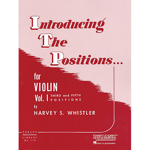 Hal Leonard Introducing The Positions Violin Vol. 1 by Whistler thumbnail