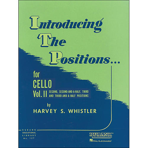 Hal Leonard Introducing The Positions for Cello Vol 2 2nd, 2 1/2, 3rd And 3 1/2 Positions-thumbnail