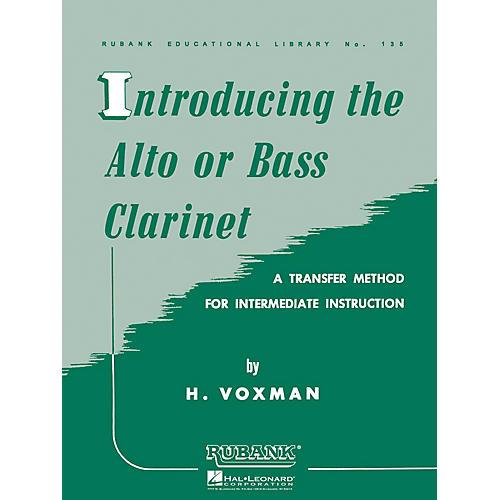 Rubank Publications Introducing the Alto or Bass Clarinet Woodwind Method Series thumbnail