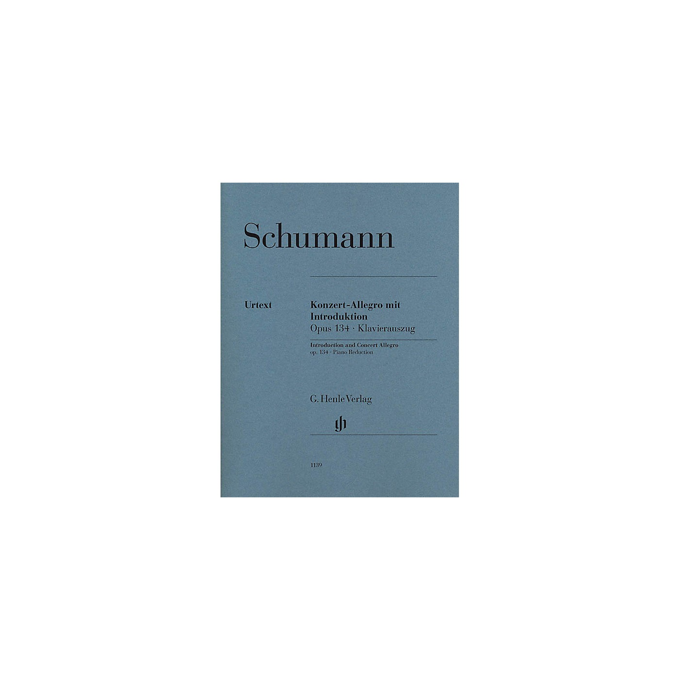 G. Henle Verlag Introduction and Concert Allegro for Piano and Orchestra, Op. 134 Henle Music Softcover by Schumann thumbnail