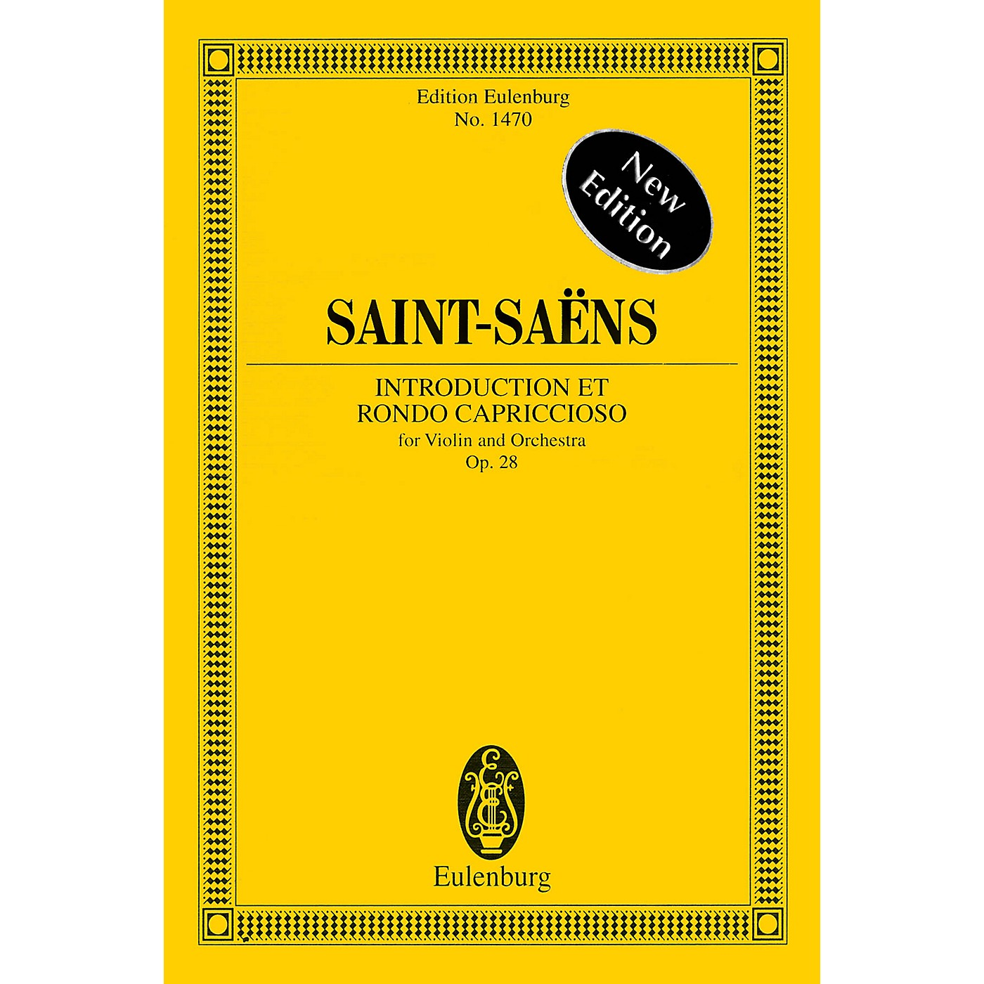 Eulenburg Introduction et Rondo Capriccioso, Op. 28 Study Score Series Softcover Composed by Camille Saint-Saens thumbnail
