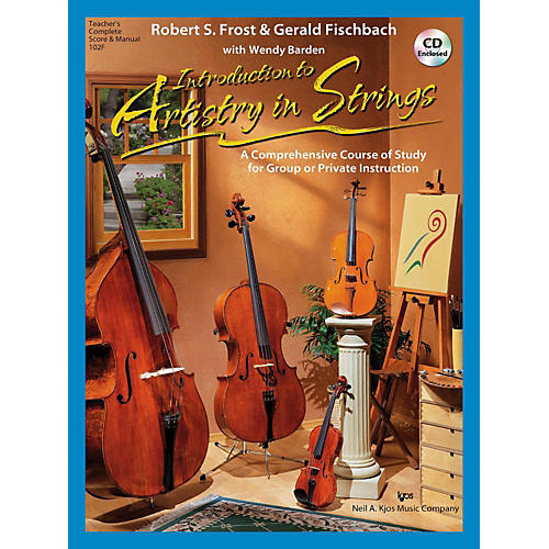 KJOS Introduction to Artistry in Strings - Score thumbnail