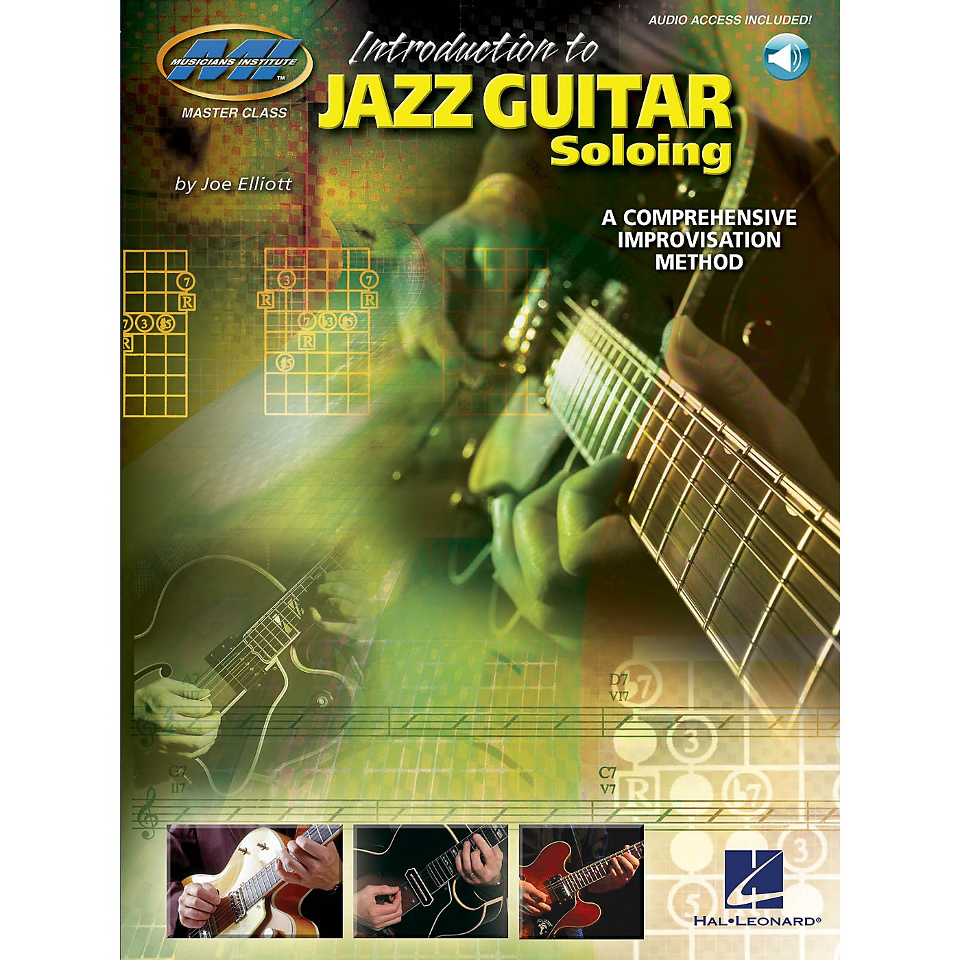 Musicians Institute Introduction to Jazz Guitar Soloing Musicians Institute Press Series Softcover with CD by Joe Elliott thumbnail