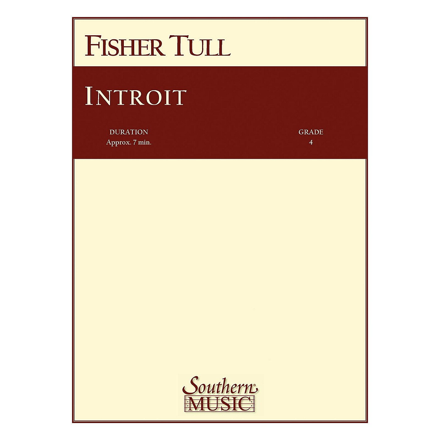 Southern Introit (Band/Concert Band Music) Concert Band Level 3 Composed by Fisher Tull thumbnail