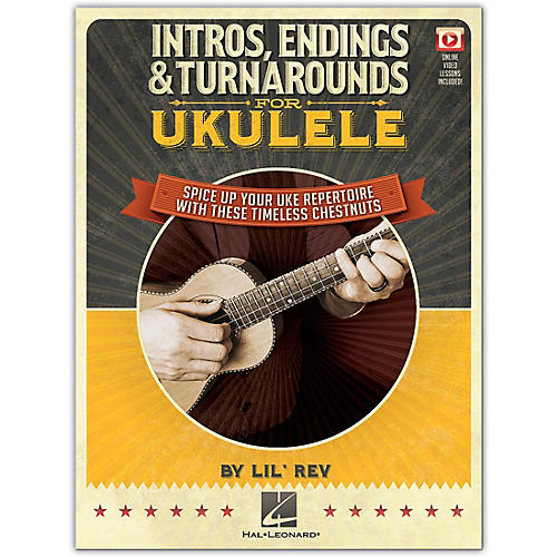 Hal Leonard Intros, Endings & Turnarounds for Ukulele Book/Video Online thumbnail
