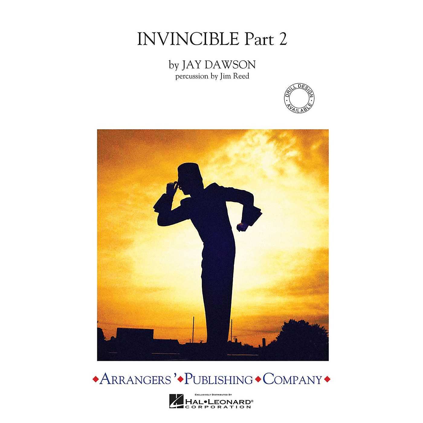 Arrangers Invincible - Part 2 Marching Band Level 3-4 Arranged by Jim Reed thumbnail