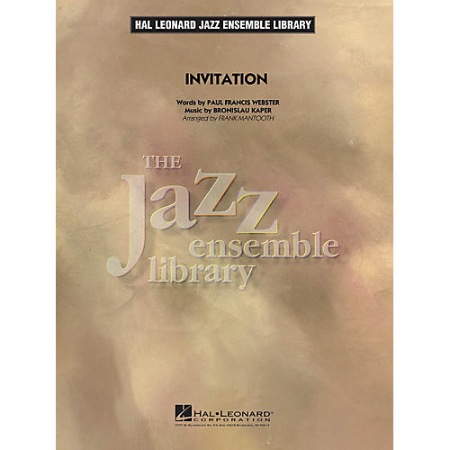 Invitation jazz band level 4 arranged by frank mantooth wwbw hal leonard invitation jazz band level 4 arranged by frank mantooth thumbnail stopboris Image collections