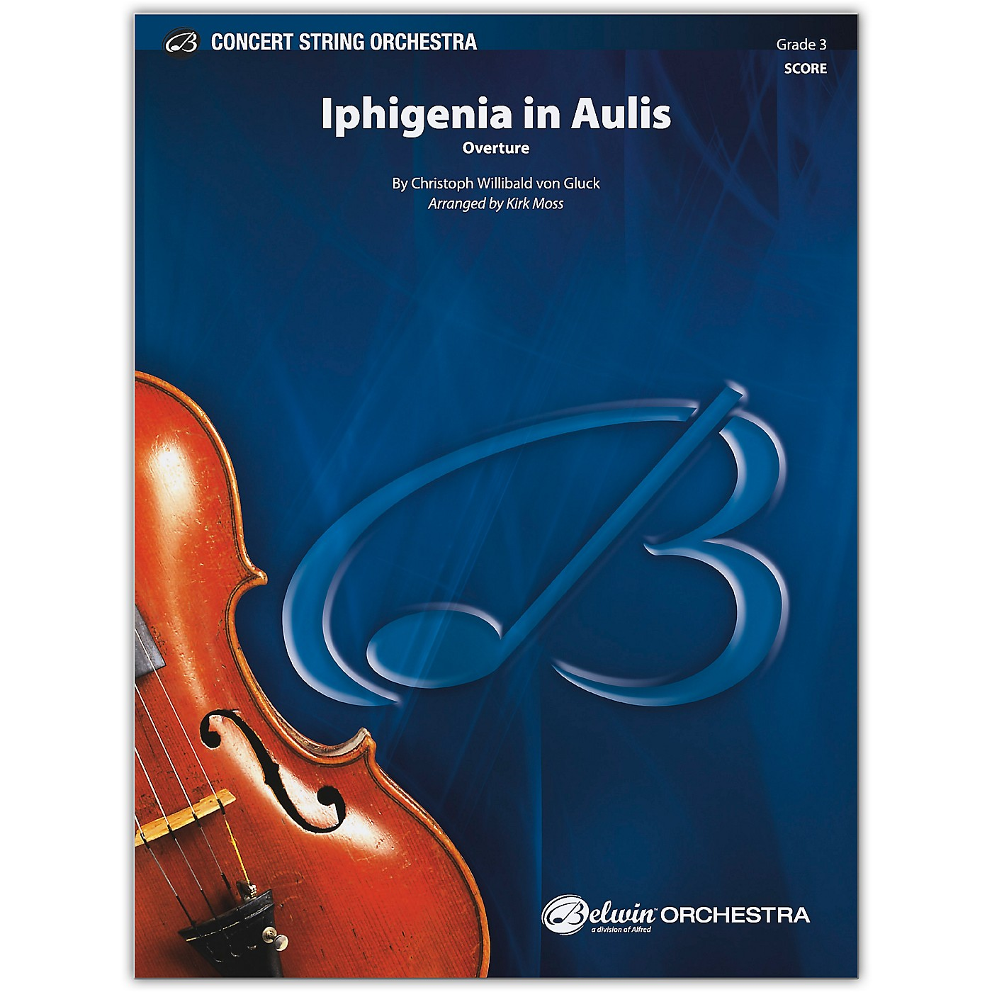 BELWIN Iphigenia in Aulis Conductor Score 3 thumbnail