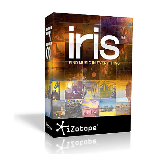 iZotope Iris Spectral Selection Synth thumbnail