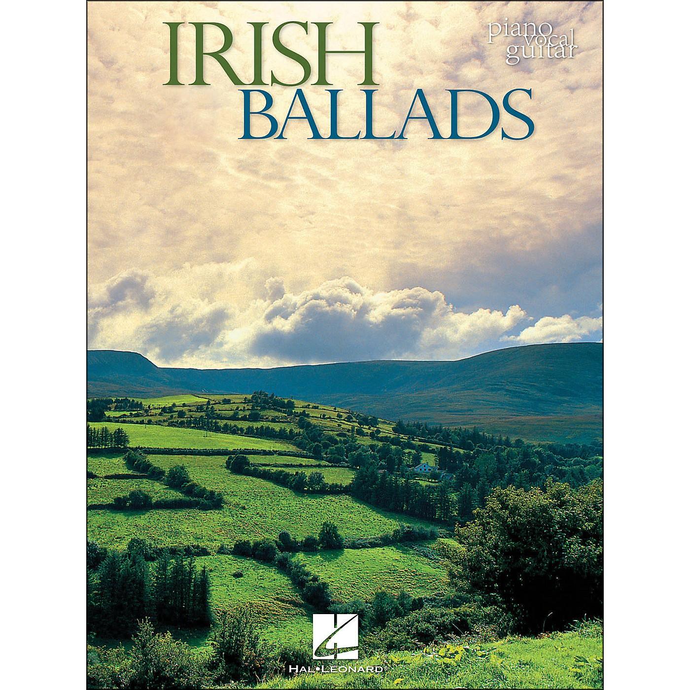 Hal Leonard Irish Ballads arranged for piano, vocal, and guitar (P/V/G) thumbnail