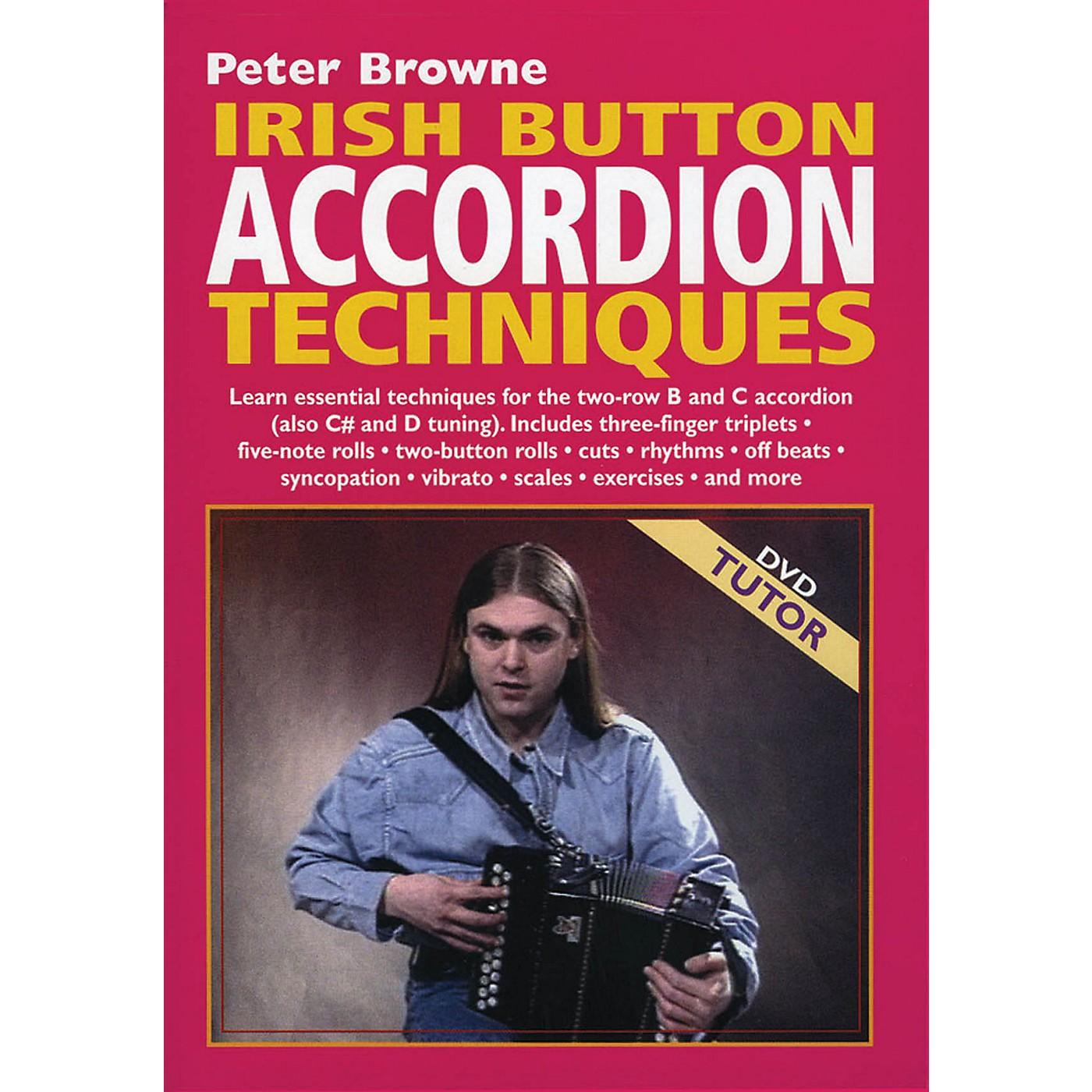 Waltons Irish Button Accordion Techniques Waltons Irish Music Dvd Series DVD Written by Peter Browne thumbnail