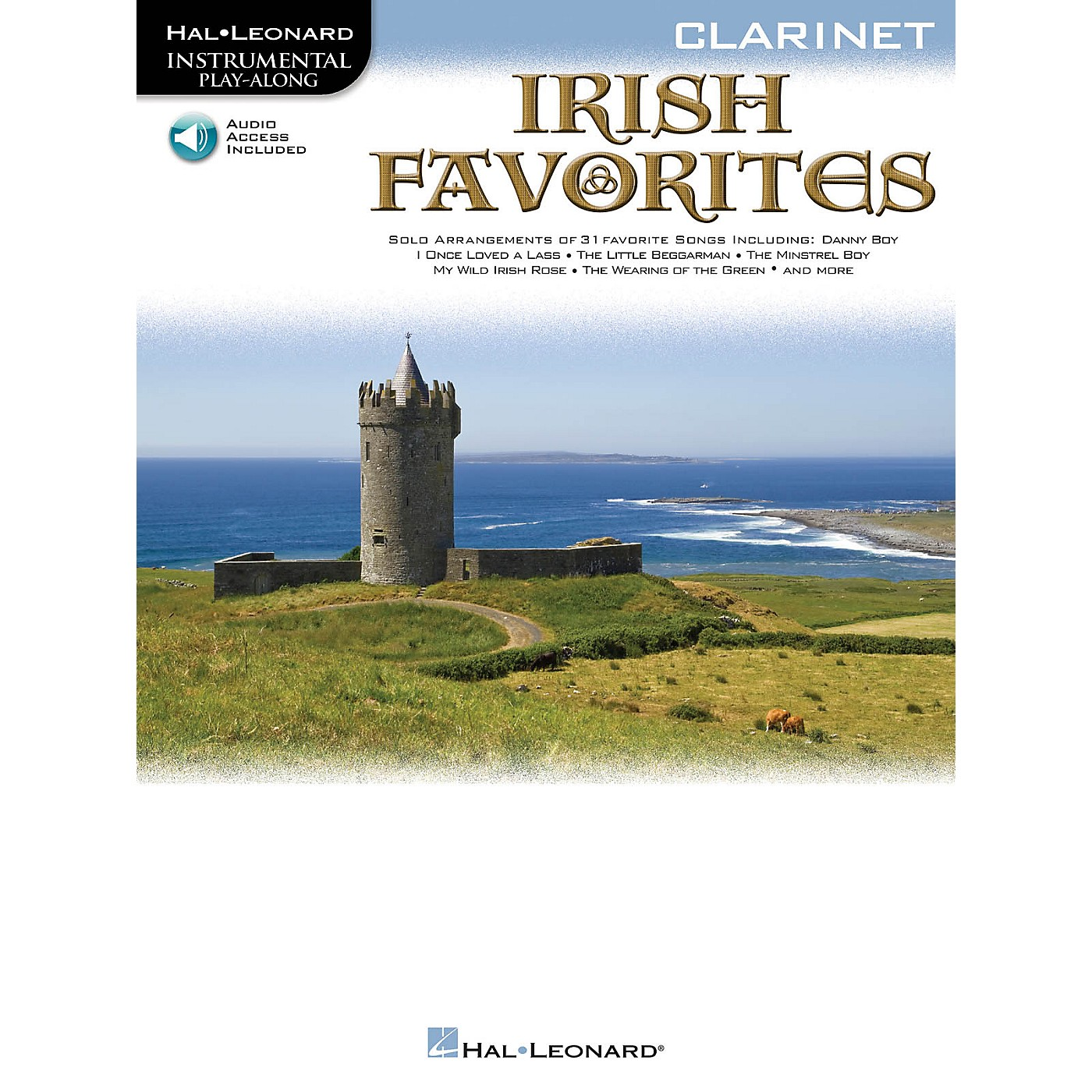 Hal Leonard Irish Favorites (Cello) Instrumental Play-Along Series Softcover with CD thumbnail