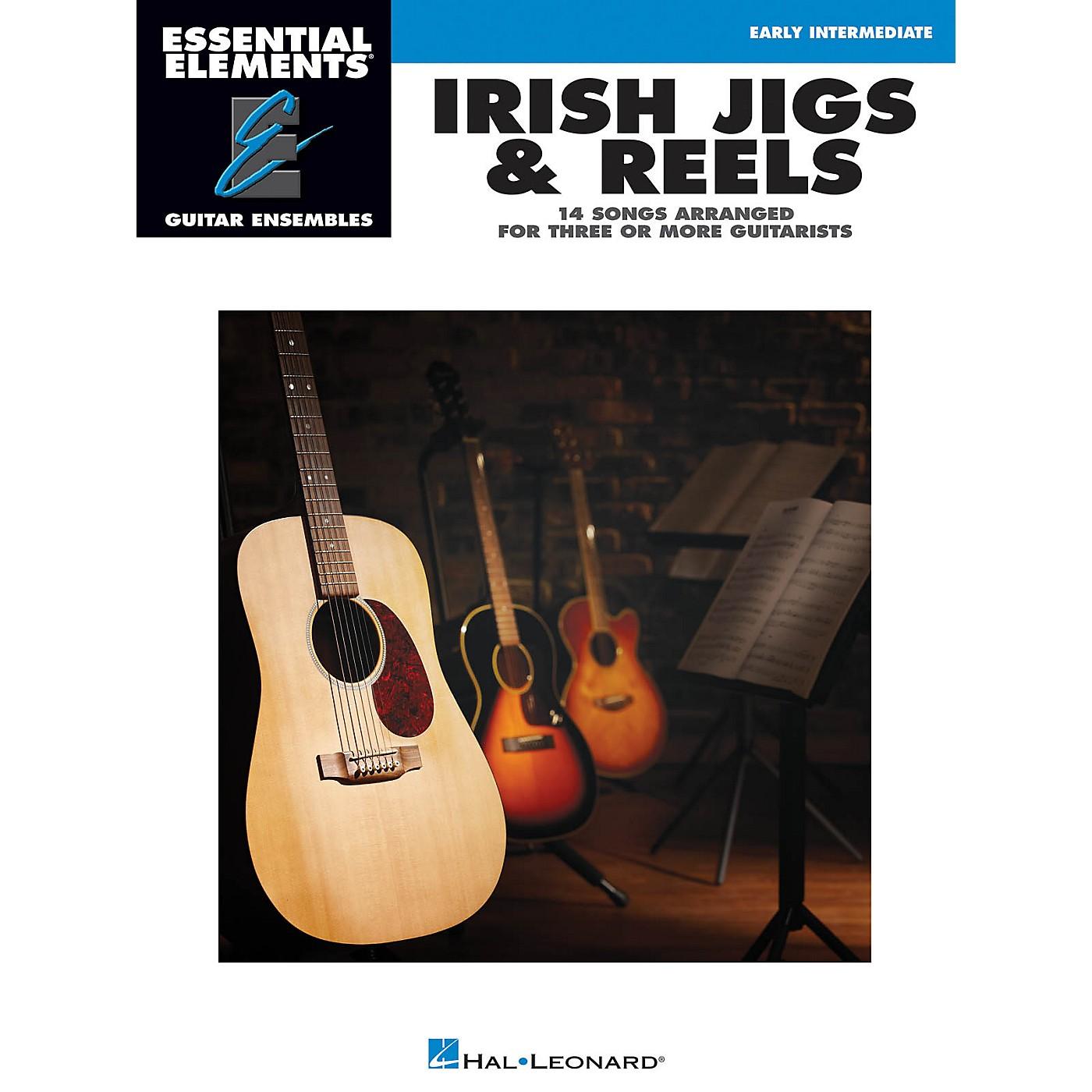 Hal Leonard Irish Jigs & Reels Essential Elements Guitar Series Softcover thumbnail