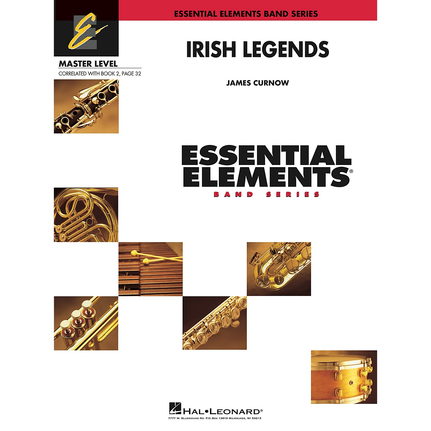 Hal Leonard Irish Legends Concert Band Level 2 Composed by James Curnow thumbnail