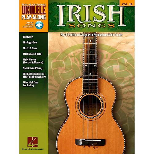 Hal Leonard Irish Songs - Ukulele Play-Along Volume 18 Book/CD thumbnail