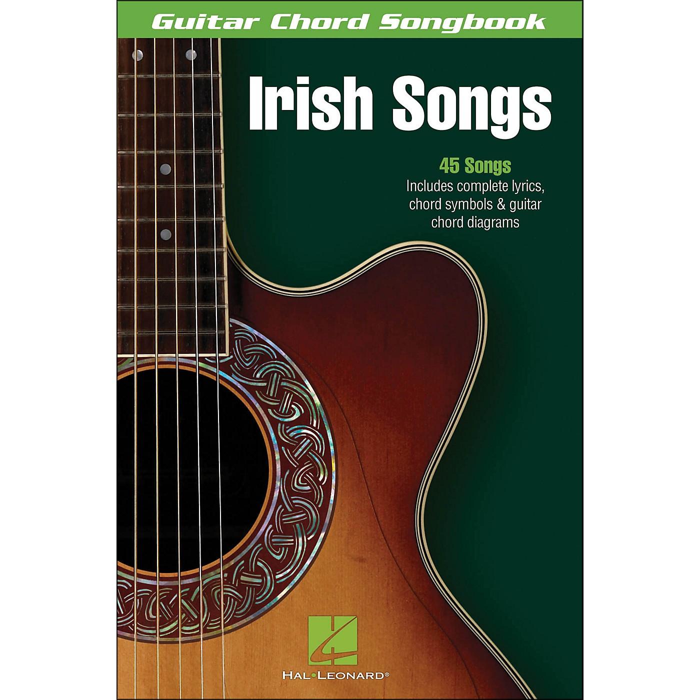 Hal Leonard Irish Songs Guitar Chord Songbook thumbnail