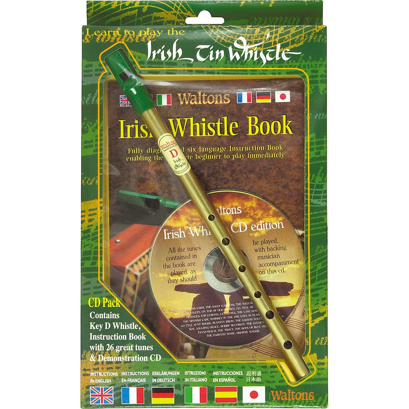 Waltons Irish Tin Whistle CD Pack thumbnail