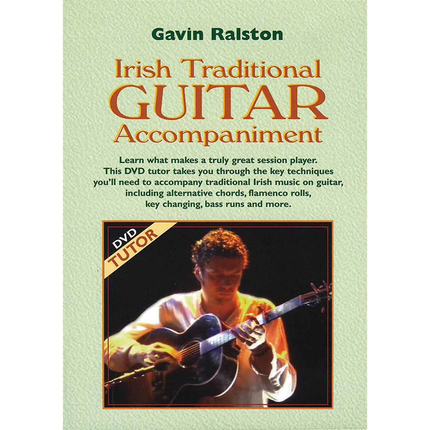 Waltons Irish Traditional Guitar Accompaniment Waltons Irish Music Dvd Series DVD Written by Gavin Ralston thumbnail