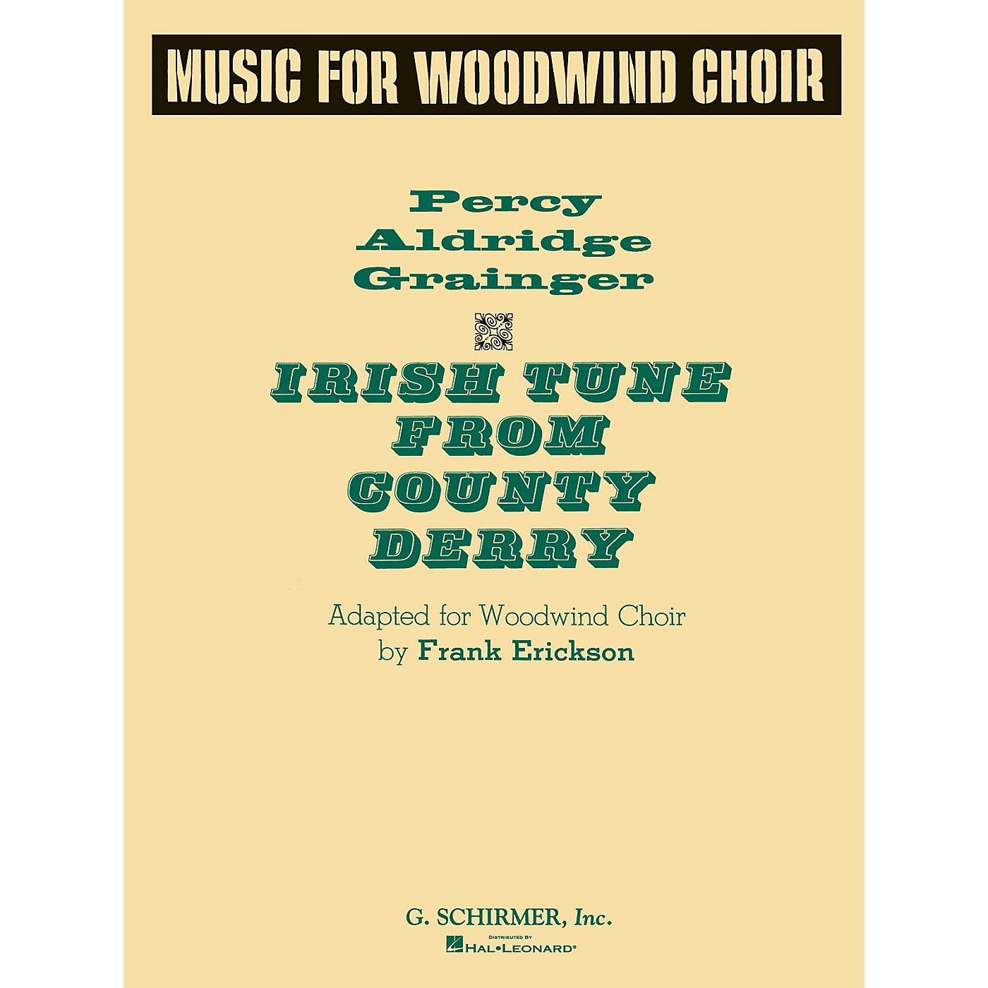 G. Schirmer Irish Tune from County Derry (Score and Parts) G. Schirmer Band/Orchestra Series by Percy Grainger thumbnail