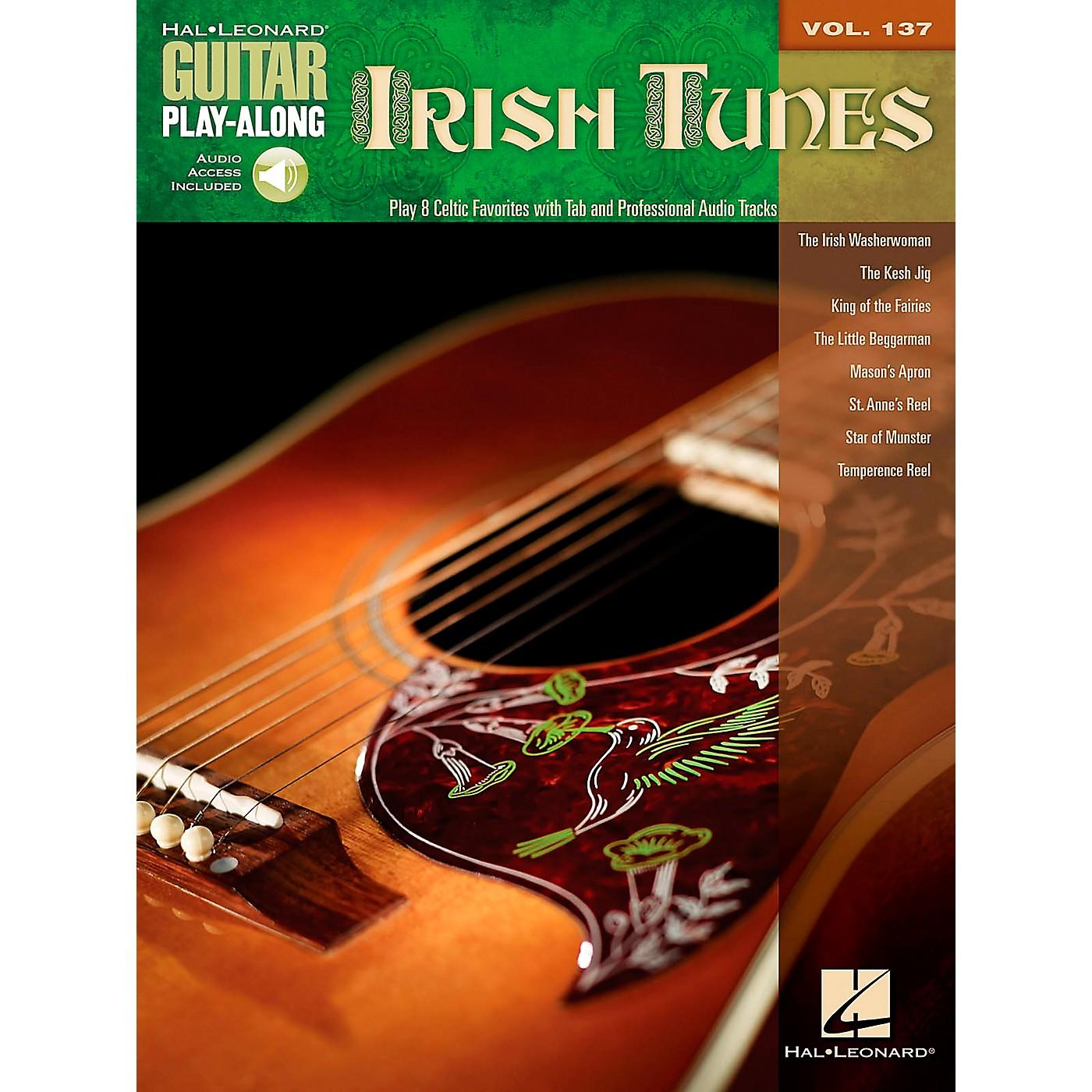 Hal Leonard Irish Tunes - Guitar Play-Along Volume 137 Book/CD thumbnail