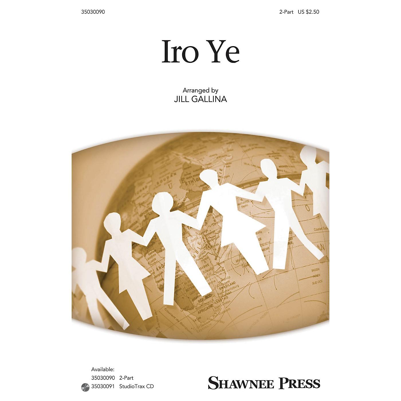 Shawnee Press Iro Ye Studiotrax CD Arranged by Jill Gallina thumbnail