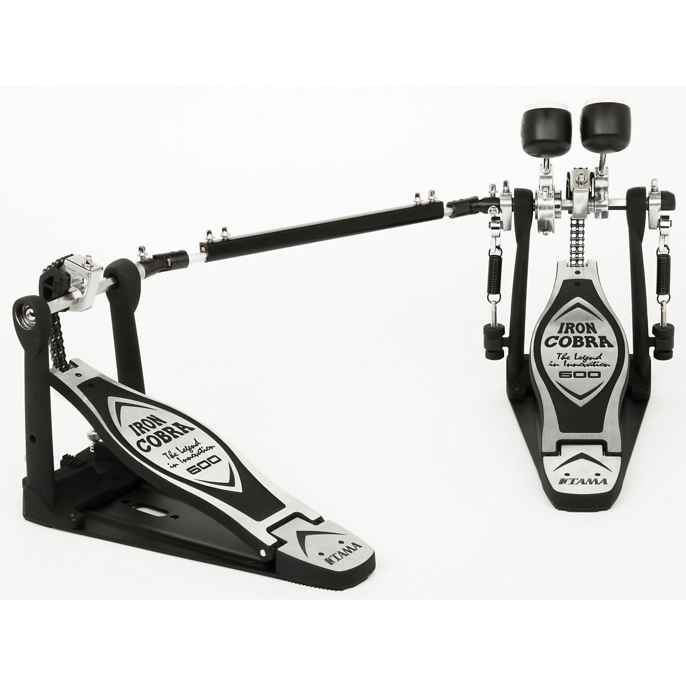 TAMA Iron Cobra 600 Series Double Bass Drum Pedal thumbnail