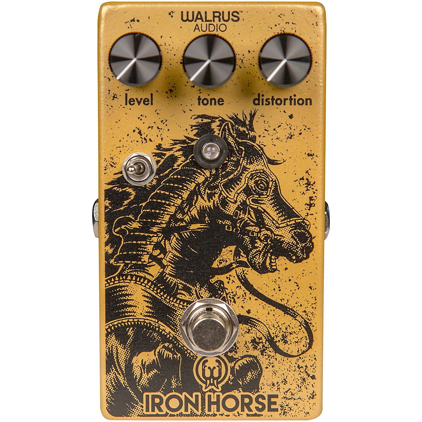 Walrus Audio Iron Horse V2 Distortion Effects Pedal thumbnail