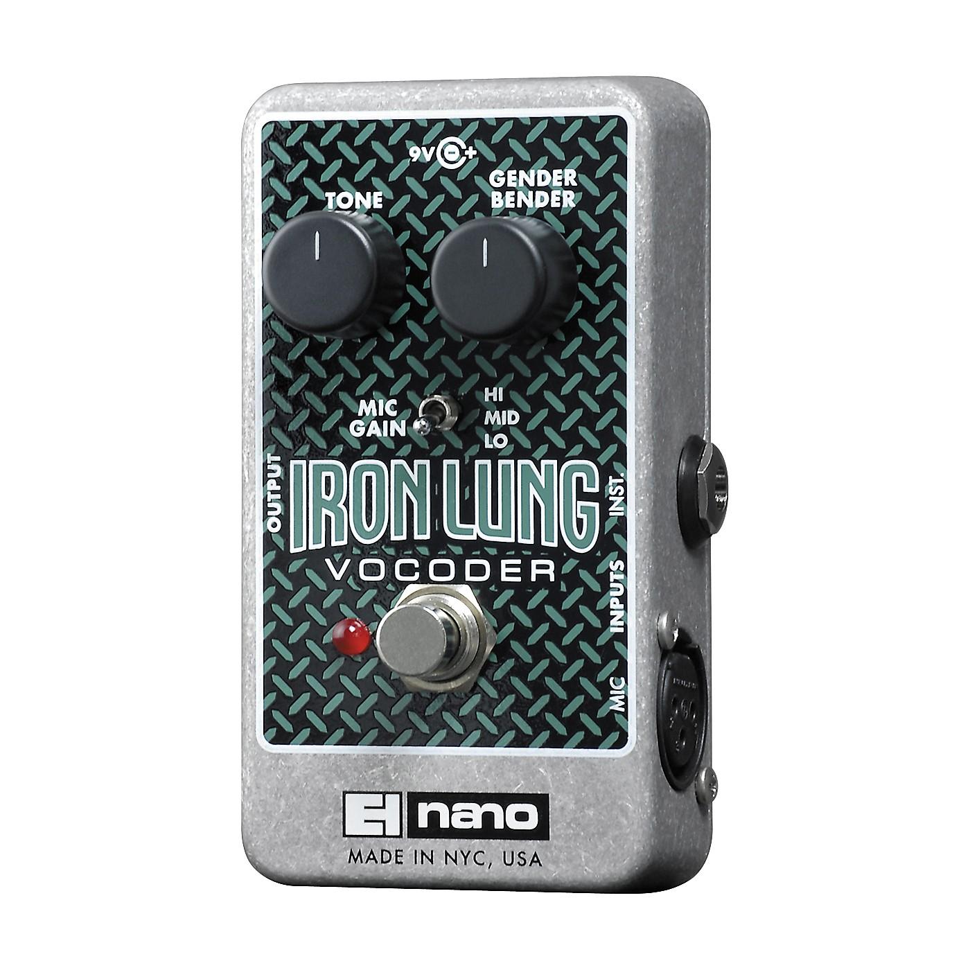 Electro-Harmonix Iron Lung Vocoder Pedal thumbnail