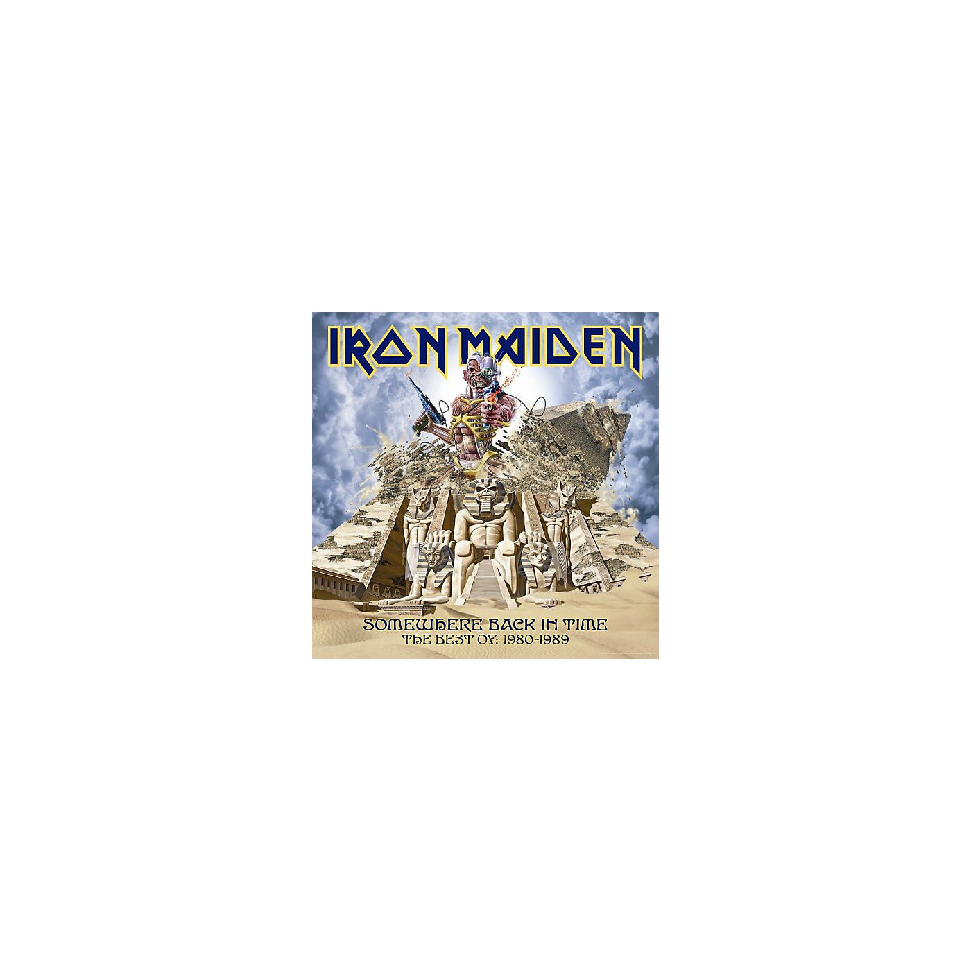 Alliance Iron Maiden - Somewhere Back in Time: The Best of 1980-1989 (CD) thumbnail