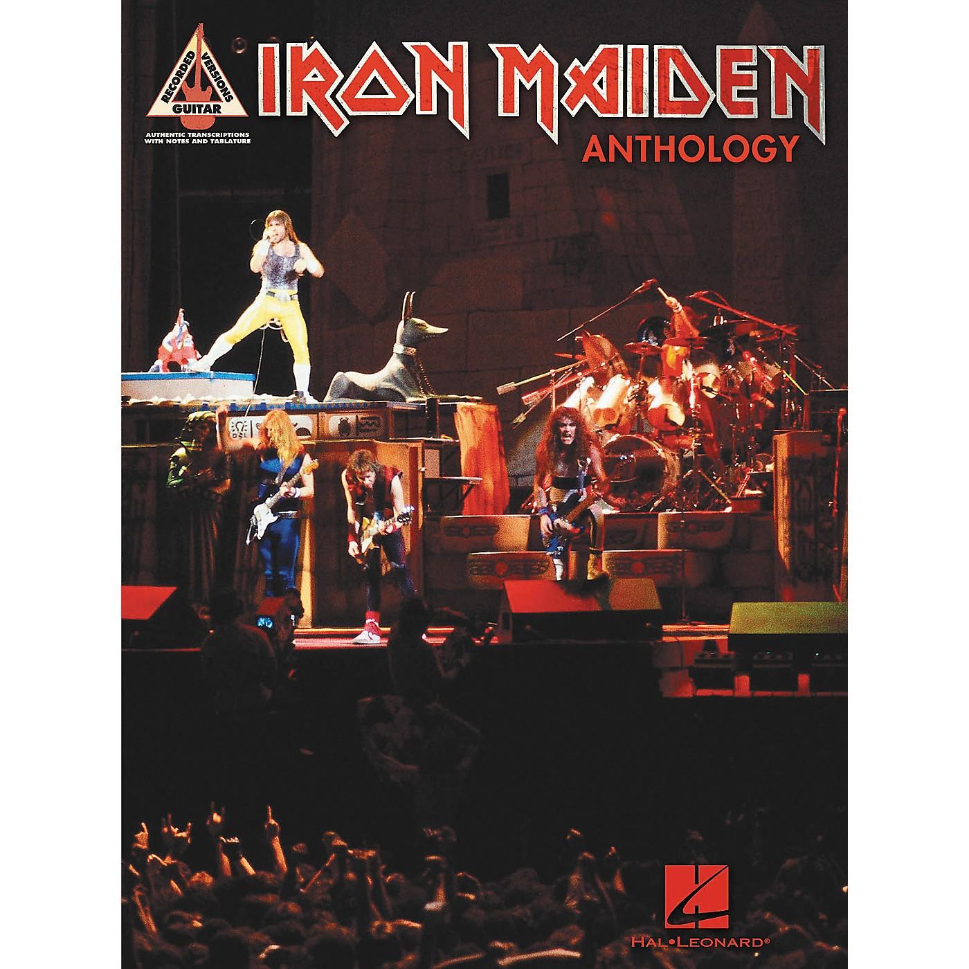 Hal Leonard Iron Maiden Anthology (Tab Songbook) thumbnail