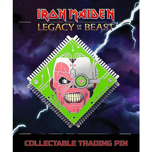 Entertainment Earth Iron Maiden Cyborg Eddie Lapel Pin thumbnail