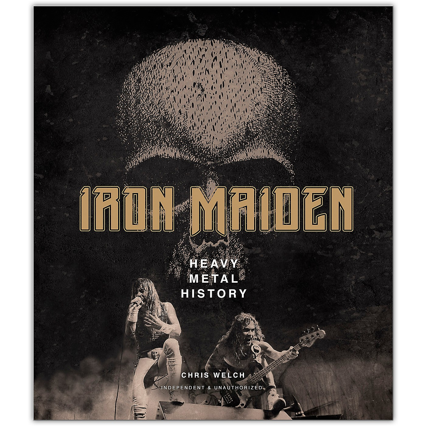 Hal Leonard Iron Maiden: Heavy Metal History - Hardcover Edition thumbnail