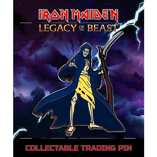 Entertainment Earth Iron Maiden Reaper Eddie Lapel Pin thumbnail